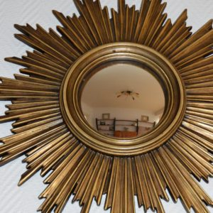 Grand miroir soleil vintage 7