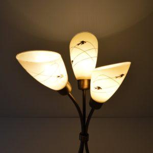 Lampe de table 1950 vintage 16