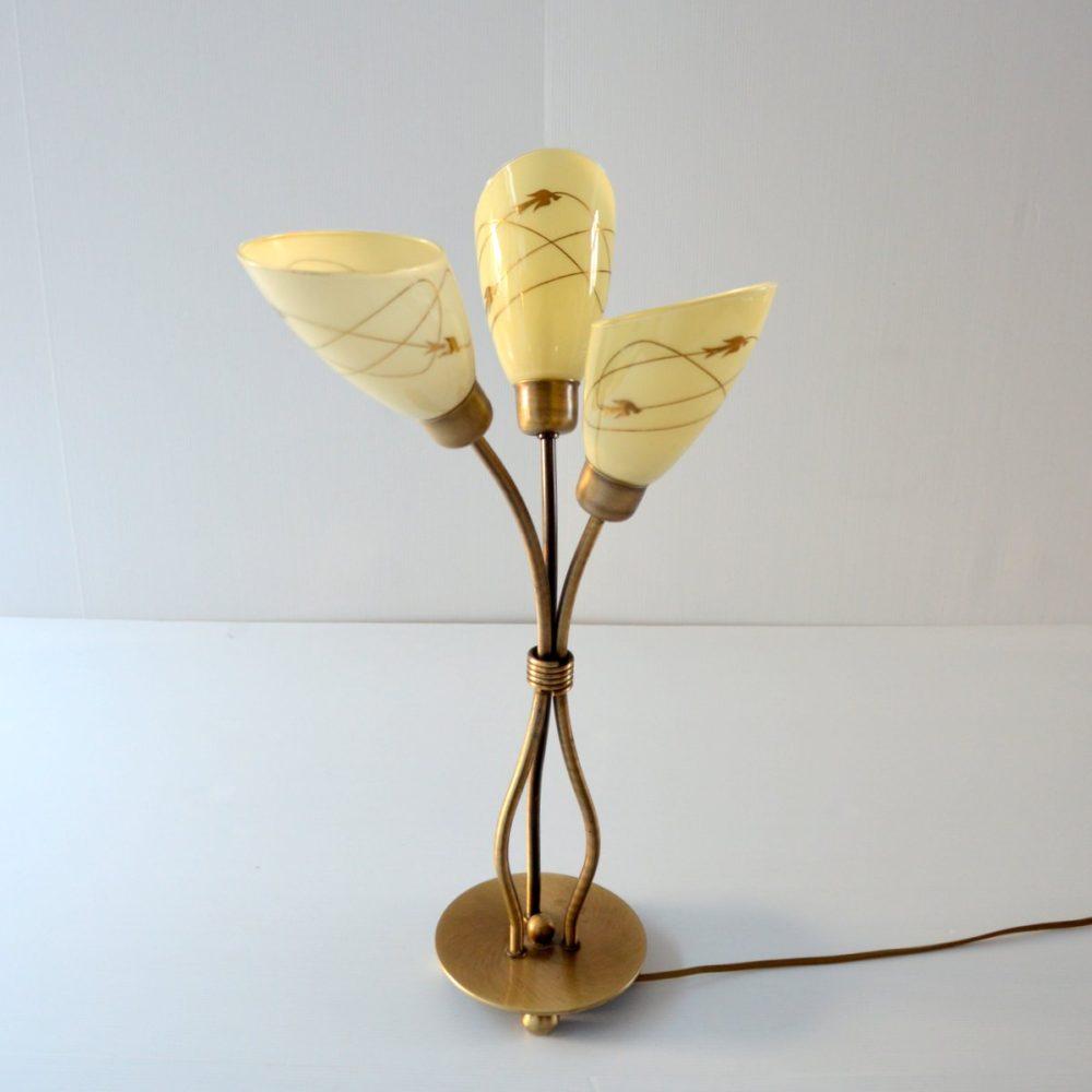 Superbe lampe de table vintage 1950s