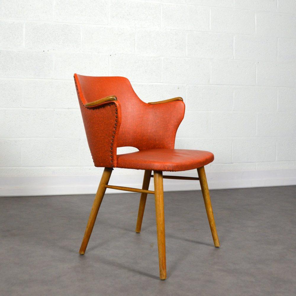 Chaise cocktail vintage années 50