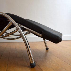 Chaise longue : à bascule 1970 vintage 19