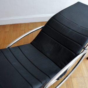 Chaise longue : à bascule 1970 vintage 32