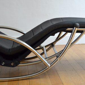 Chaise longue : à bascule 1970 vintage 55