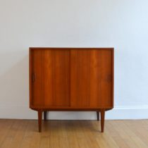 Commode scandinave teck 1960 vintage 1