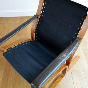 Fauteuil siesta scandinave vintage 37
