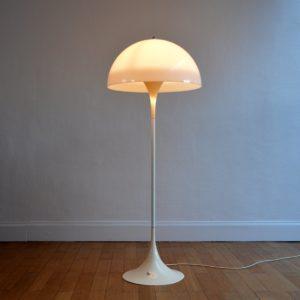 LAMPADAIRE PANTHELLA DANOIS PAR VERNER PANTON POUR LOUIS POULSEN – 1970 vintage 17