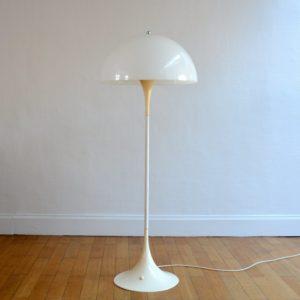LAMPADAIRE PANTHELLA DANOIS PAR VERNER PANTON POUR LOUIS POULSEN – 1970 vintage 2