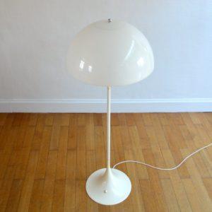 LAMPADAIRE PANTHELLA DANOIS PAR VERNER PANTON POUR LOUIS POULSEN – 1970 vintage 8