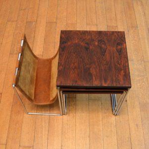 tables gigognes avec porte-revues Brabantia 25