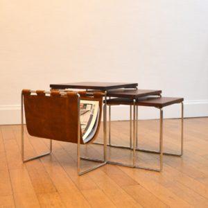 tables gigognes avec porte-revues Brabantia 3