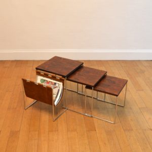 tables gigognes avec porte-revues Brabantia 7