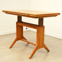 Table transformable scandinave vintage
