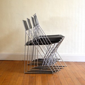 chaise métal 16
