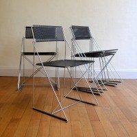 Chaises vintage Nuova X-line