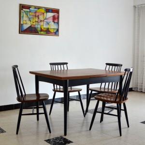 Chaises et table teck 11