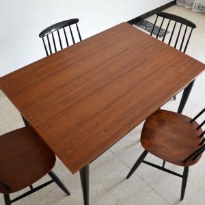 Chaises et table teck 9