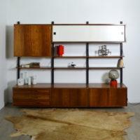 Système d'étagères Scandinave modulable années 60 vintage