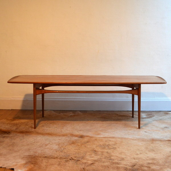 Table basse scandinave teck France & Søn