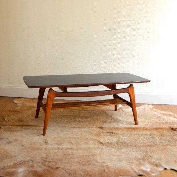 Table basse scandinave de Louis Van Teeffelen