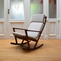 Rocking Chair Poul Volther / Frem Rojle Denmark, 1960′