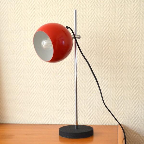Lampe de bureau années 60