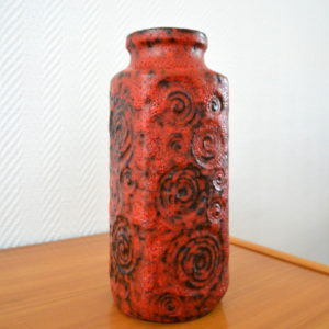 vase poterie West-Germany vintage    12