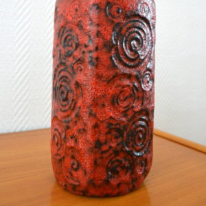 vase poterie West-Germany vintage    13