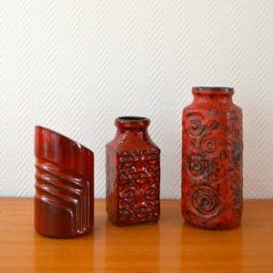 vase poterie West-Germany vintage    2