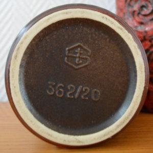vase poterie West-Germany vintage    21