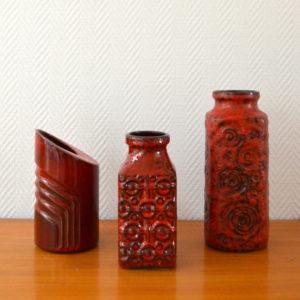 vase poterie West-Germany vintage    3