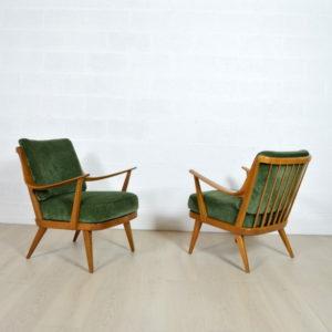 Paire de fauteuils Knoll 5