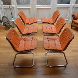 chaises années 70 g