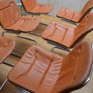 chaises années 70 o