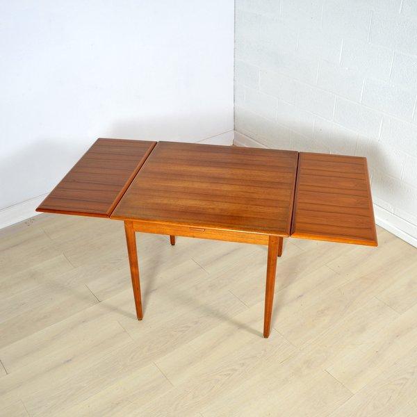 Table de repas scandinave teck années 60