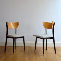 Deux belles chaises années 50