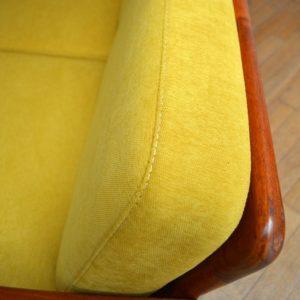 Banquette – sofa – Daybed scandinave vintage 20