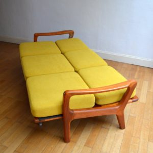 Banquette – sofa – Daybed scandinave vintage 45