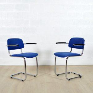 6 chaises Gispen vintage 2
