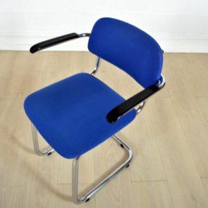 6 chaises Gispen vintage 37