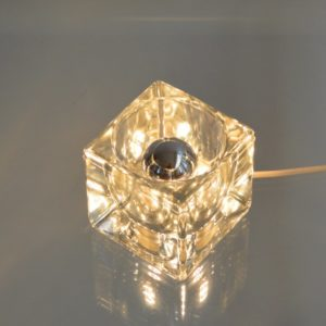 Lampe glaçon années 50 : 60 vintage 8