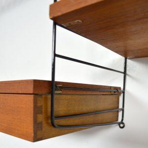 Etagère string par Nisse Strinning 1960s vintage 11