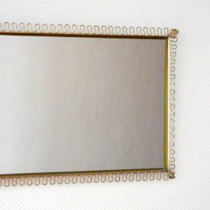 Miroir rectangulaire Josef Frank 1950s vintage 5