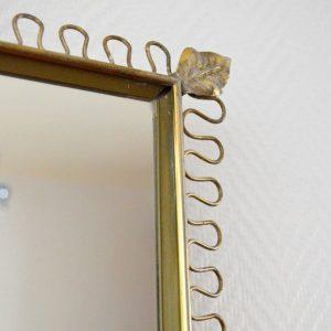 Miroir rectangulaire Josef Frank 1950s vintage 9