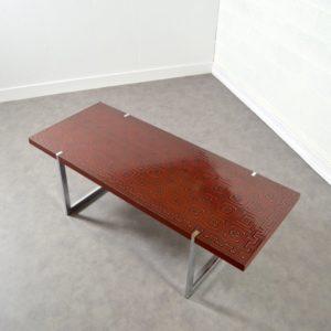 Table basse design années 60 : 70 vintage 11