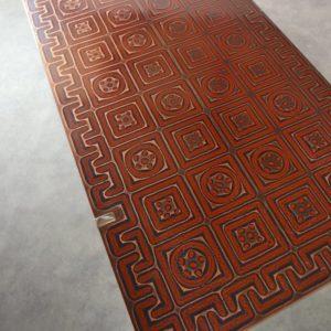 Table basse design années 60 : 70 vintage 13