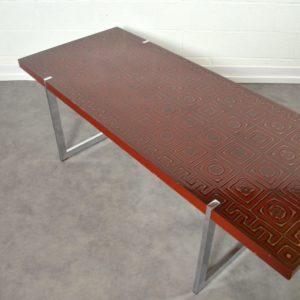Table basse design années 60 : 70 vintage 22