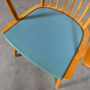 Chaise Lubke vintage 13