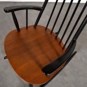 Rocking chair Tapiovaara vintage 10
