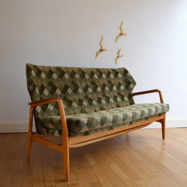 Canapé par Aksel Bender Madsen pour Bovenkamp 1960s