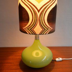 Lampe d'ambiance 1970 vintage Doria 22
